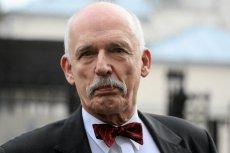 Korwin-Mikke dostał reprymendę od szefa PE i chce sięzrewanżować.
