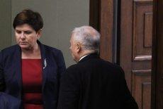 """Prezes Szydło bywa """"karcona"""" przez prezesa –sama to przyznała."""