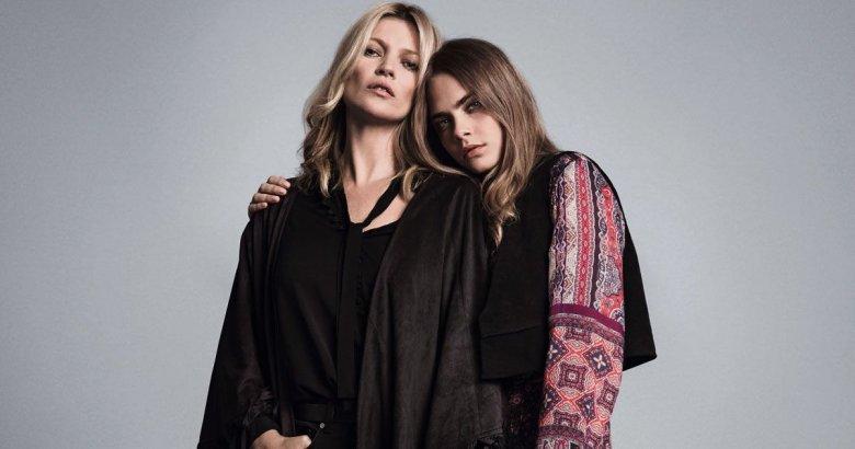 Cara i Kate pojawiły się razem także w reklamie hiszpańskiej sieciówki – Mango.