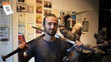 CD Projekt to najbardziej znany polski producent i dystrybutor gier komputerowych. Na zdjęciu Konrad Tomaszkiewicz, Game Director w CD Projekt Red, w którym powstały gry z serii ''Wiedźmin''