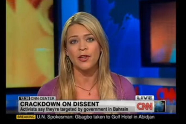 Była dziennikarka CNN Amber Lyon oświadczyła, że zmuszano ją do podawania nieprawdziwych informacji dotyczących sytuacji w Iranie i Syrii.