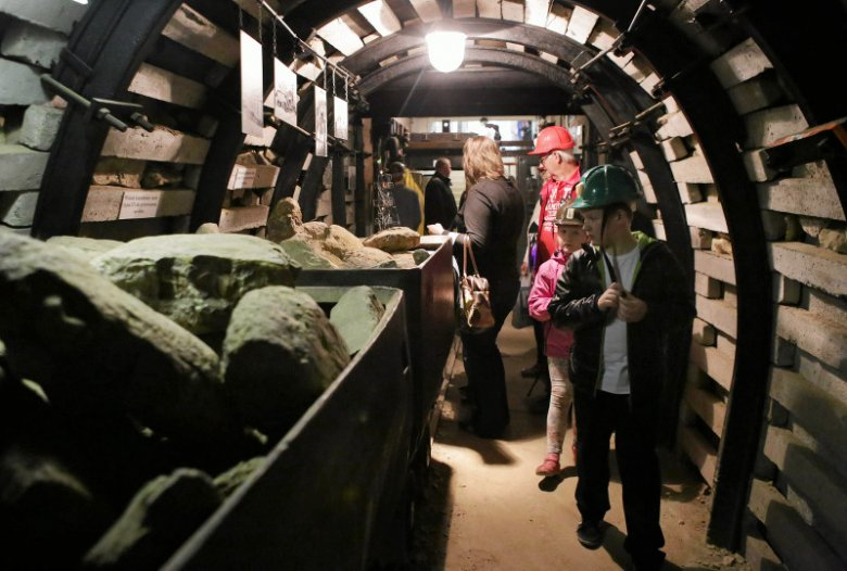 14.05.2016 Częstochowa, Park Staszica , Muzeum Górnictwa Rud Żelaza