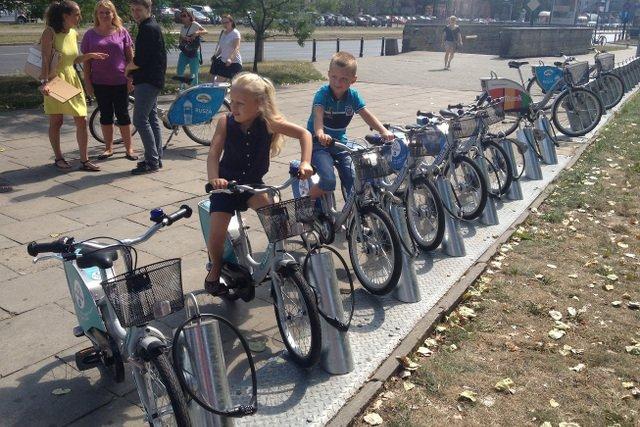 Od Dziś Rowery Miejskie Także Dla Dzieci Veturilki Ruszają Na Ulice