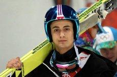 Maciej Kot na Igrzyskach w Soczi miał wsparcie swojej mamy Małgorzaty.