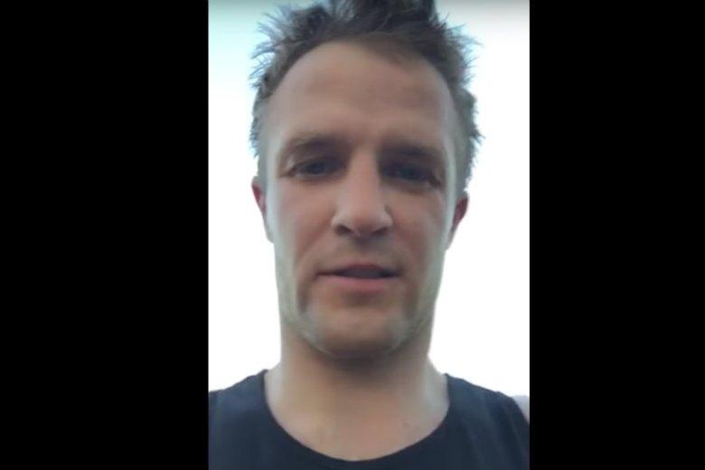 Krystian Herba, wielokrotny mistrz Polski  w trialu rowerowym, nie ma gdzie trenować.