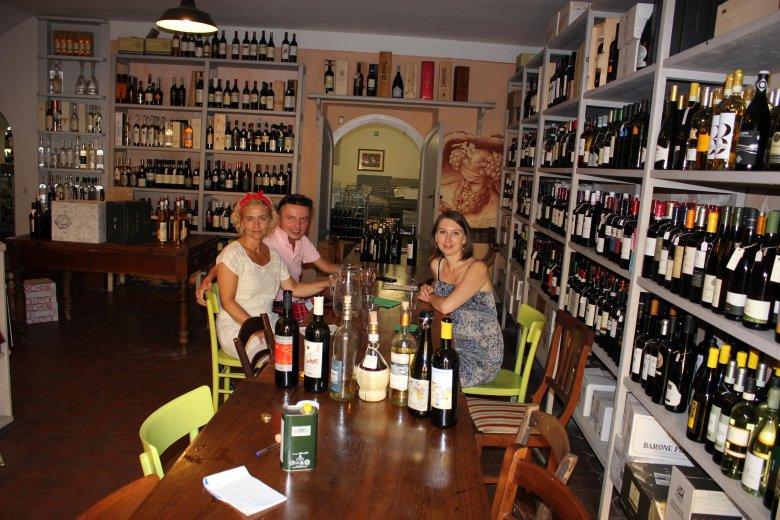 Będąc w Toskanii należy odwiedzić winnice, czyli Cantine:)