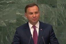 """Andrzej Duda nawołuje do reform w ONZ. """"Prawo weta prowadziło do impasu prac Rady"""""""