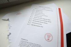 Wzór karty do głosowania w czasie I tury wyborów prezydenckich 28 czerwca 2020.