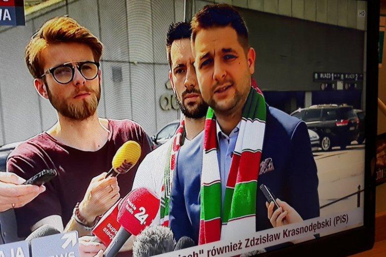 Kibicie Polonii Warszawa chyba już na Patryka Jakiego nie zagłosują.