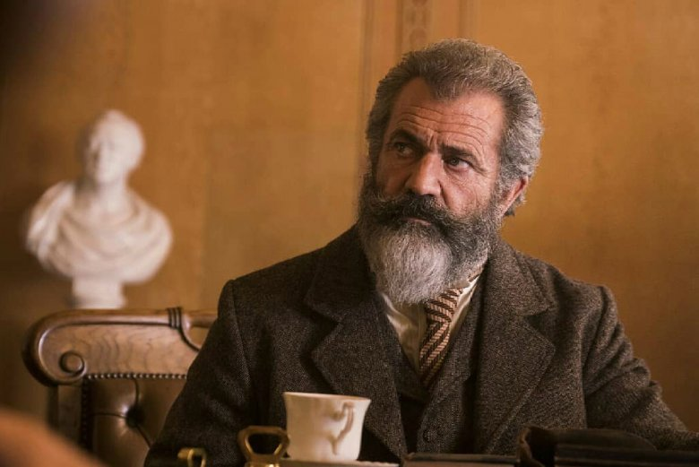 "Mel Gibson w tegorocznym filmie ""The Professor and the Madman"""