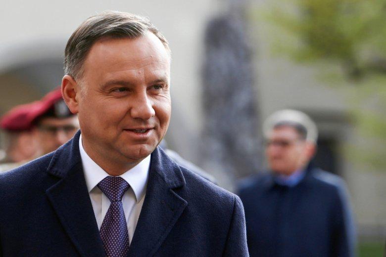 Andrzej Duda pokonał w sondażu m.in. Donalda Tuska.