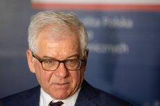 Jacek Czaputowicz ostro o wypowiedzi szefa MSZ Izraela na temat Polski.