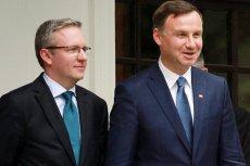 Andrzej Duda nadał nominację profesorską swemu doradcy Krzysztofowi Szczerskiego.