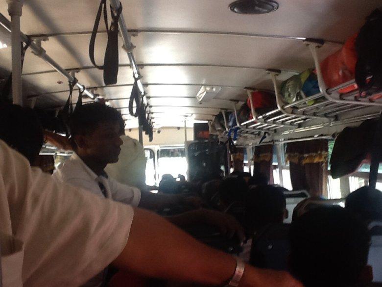 Autobus z Kandy do Sigirija, Sri Lanka
