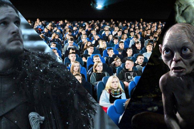 Polska coraz bardziej przypomina salę kinową, w której wyświetla się dwa filmy w tym samym czasie.