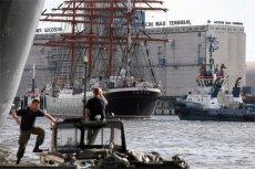 Żaglowiec szkoleniowy Siedow nie został wpuszczony na polskie wody terytorialne.