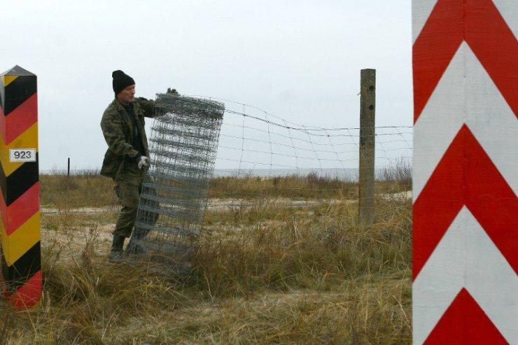 Świnoujście, trzy dni przed wejściem Polski do strefy Schengen.