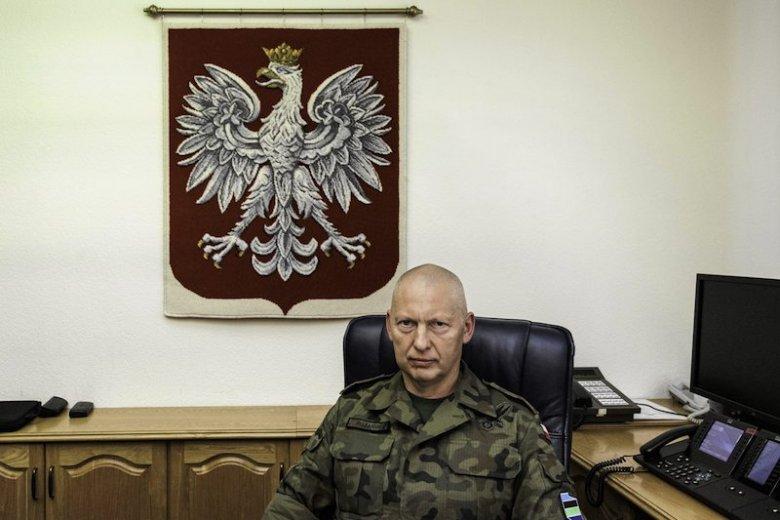 Generał Różański złożył rezygnację z funkcji Dowódcy Generalnego.