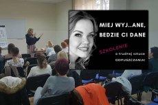 Dr Katarzyna Czyż prowadzi popularne szkolenia z trudnej sztuki odpuszczania