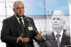 """Poseł PiS Jacek Sasin może zyskać, ale może też wiele stracić na firmowaniu pomysłu """"wielkiej Warszawy"""""""