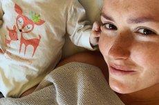 Aktorkę Olgę Frycz ostatnio widzimy w zupełnie innej roli - została mamą i podbija Instagram