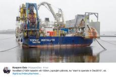 Rosja próbuje powstrzymać układanie kabla energetycznego w Bałtyku?