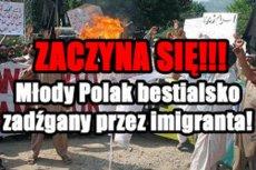 Młody Polak został zaatakowany przez dwóch syryjskich azylantów.