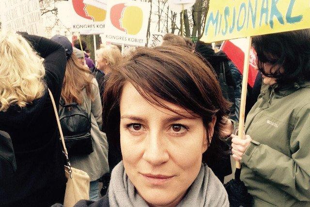"""W demonstracji """"Ratujmy Kobiety"""" weźmie udział m.in. Maja Ostaszewska."""