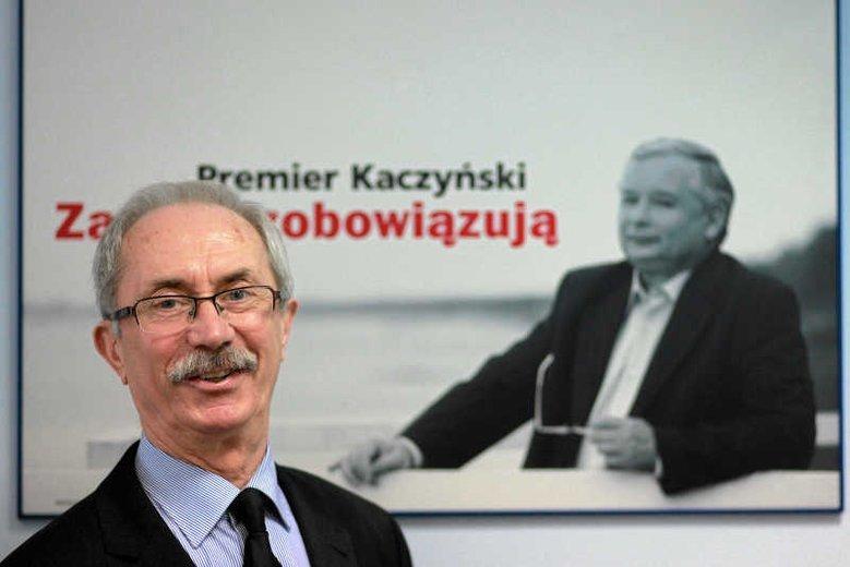 Stanisław Kostrzewski był skarbnikiem PiS do 2014 r.