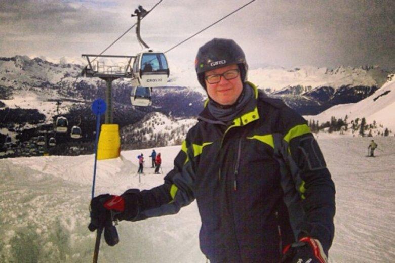 Paweł Adamowicz  lubił spędzać czas z przyjaciółmi w górach