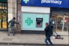 Policjanci w Londynie zastrzelili nożownika, który wcześniej zranił kilka osób.