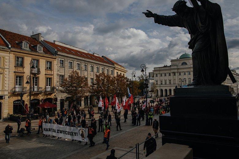 Organizatorem wydarzenia było Stowarzyszenie Roty Marszu Niepodległości.