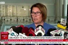 Beata Mazurek nie zna Radosława Sikorskiego?
