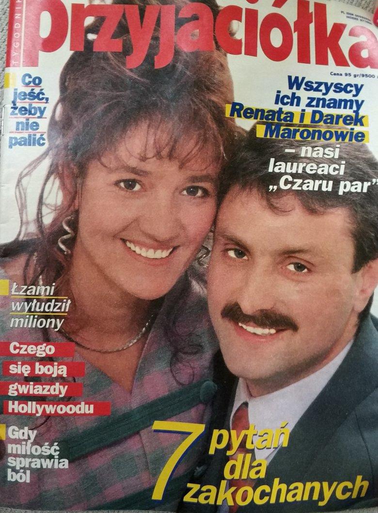 """Uczestnicy """"Czar Par"""" byli celebrytami lat 90."""