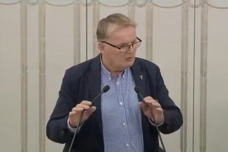 "Senator Waldemar Bonkowski nazwał noblistkę Olgę Tokarczuk ""polakożercą""."