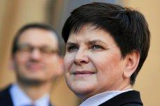 Beata Szydło była premierem, ale KPRM chyba o tym zapomniał.