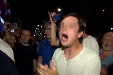 """Policja postawiła zarzuty mężczyźnie, który m.in. krzyczał do policjantów """"ZOMO!"""" podczas manifestacji z 26 lipca."""