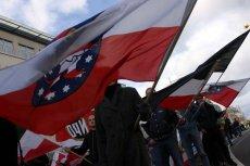 Wiec neonazistów w Niemczech. Zdjęcie poglądowe.