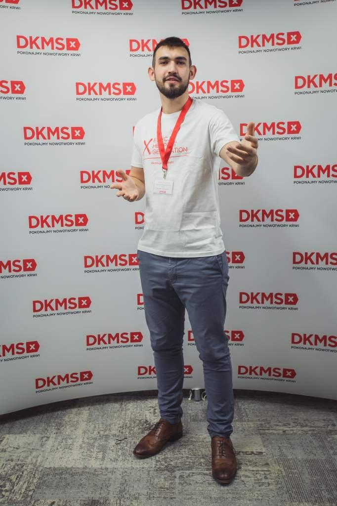 Łukasz Maciejak, Lider projektu Helpers'Generation