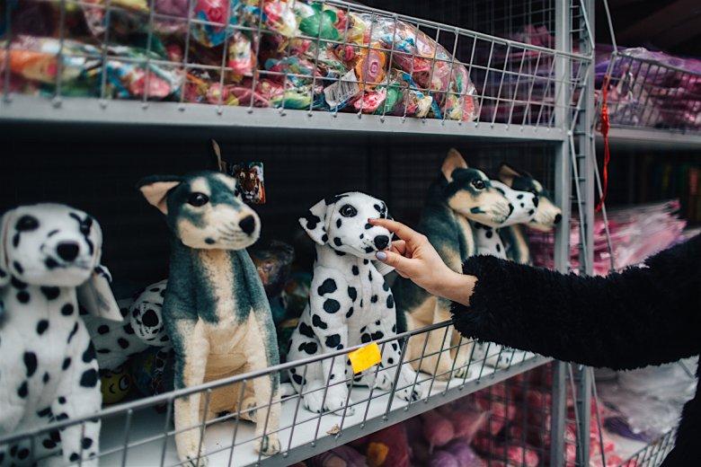 Psy przytulanki – po 3,50 zł hurtem