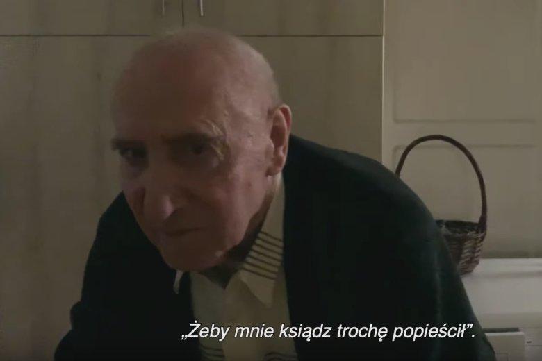 Ks. Franciszek Cybula w filmie Tomasza Sekielskiego.
