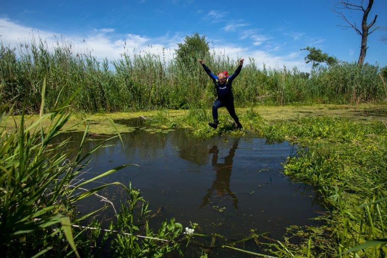 wyzwania, skok na głeboką wodę