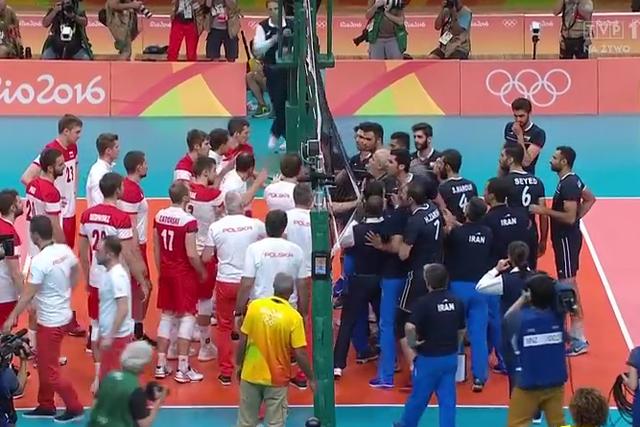 Awantura pod siatką. Polacy kłócili się z Irańczykami po wygranym meczu.