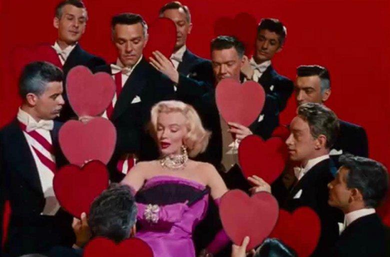 """""""Mężczyźni wolą blondynki"""" z Marilyn Monroe"""