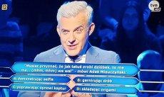 """Adaś Miauczyński i """"Dzień Świra"""" w Milionerach"""
