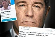 Ktoś na Twitterze stworzył fikcyjne konto Władysława Frasyniuka.