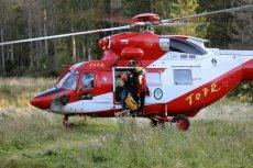 Ratownicy TOPR brali udział w akcji ratowania poszkodowanych na Giewoncie.