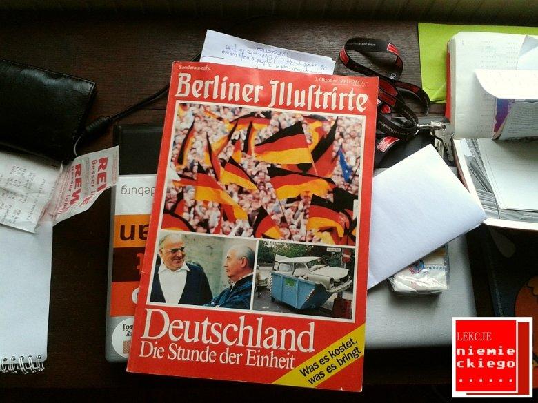 Magazyn Berliner Illustrirte wydano z okazji zjednoczenia 3 października 1990 roku.