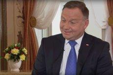 """""""Nie jestem abstynentem"""". Andrzej Duda w Polsat News o alkoholu i papierosach."""
