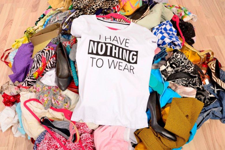 Niekupowanie nowych ubrań może sprawić, że poczujemy się niewiarygodnie dobrze